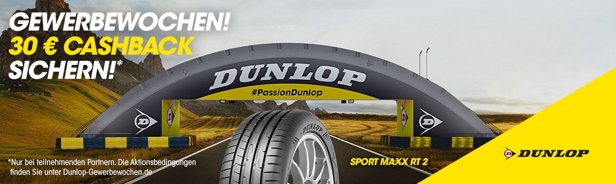 Dunlop Gewerbewochen
